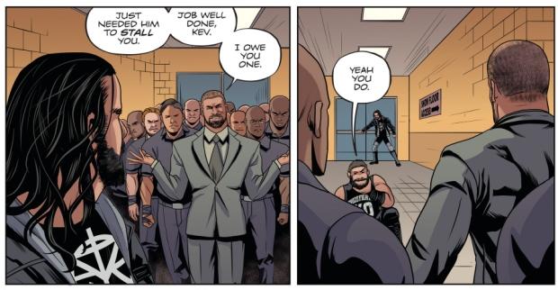 Kevin Owens Ambushes Seth Rollins