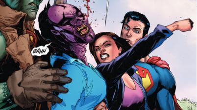 Lois Lane Punches Kroog