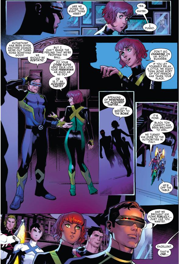 Magneto As The Original 5 X-Men's Mentor