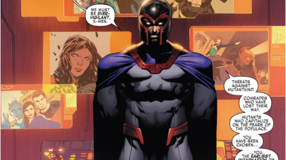 Magneto As The Original 5 X-Men's Mentor