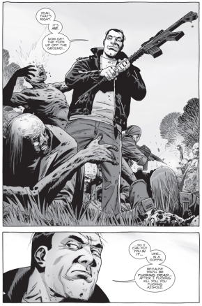 Negan Saves Dwight (The Walking Dead)