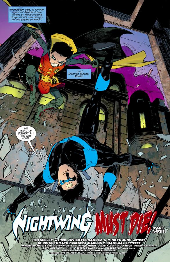 Nightwing And Robin VS Professor Pyg (Rebirth)