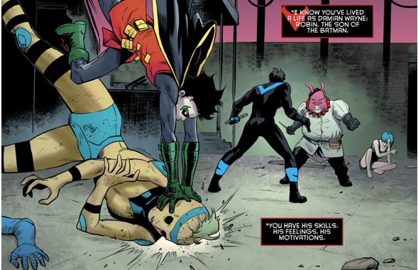 Nightwing And Robin VS Professor Pyg (Rebirth)