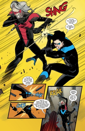 Nightwing VS Deathwing (rebirth)