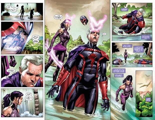 Psylocke Kills Magneto