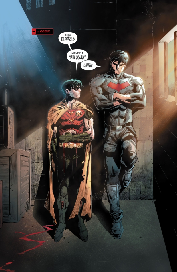 Red Hood Sees His Younger Self