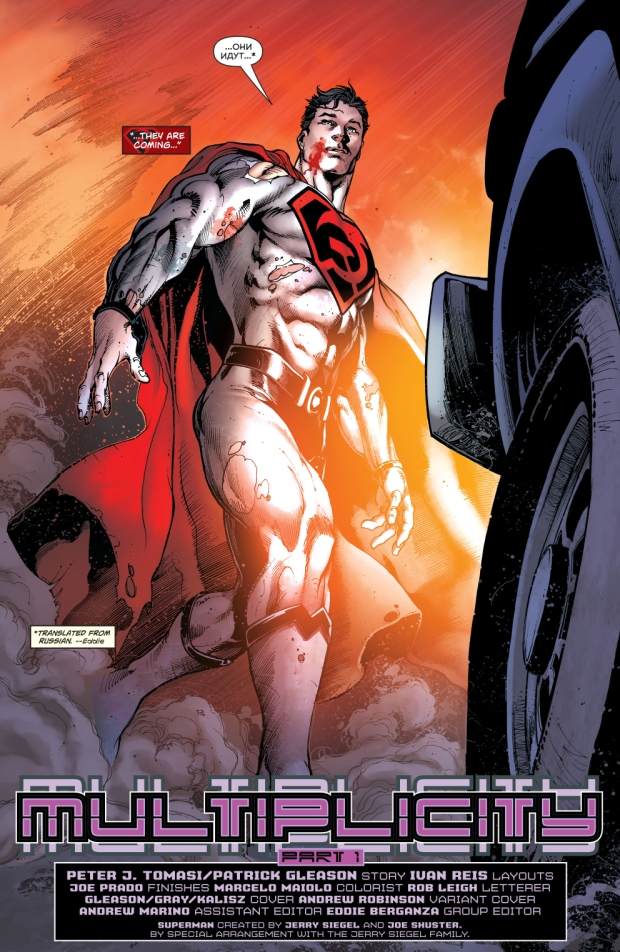 Red Son Superman (Superman Vol. 4 #14)