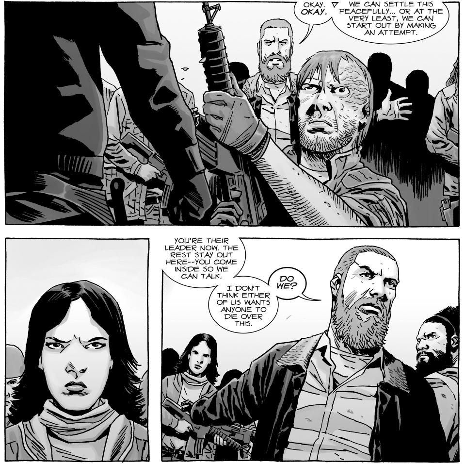 The Walking Dead Comic Rick