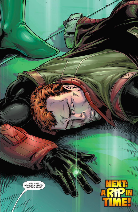 Rip Hunter (Hal Jordan And The Green Lantern Corps #18)