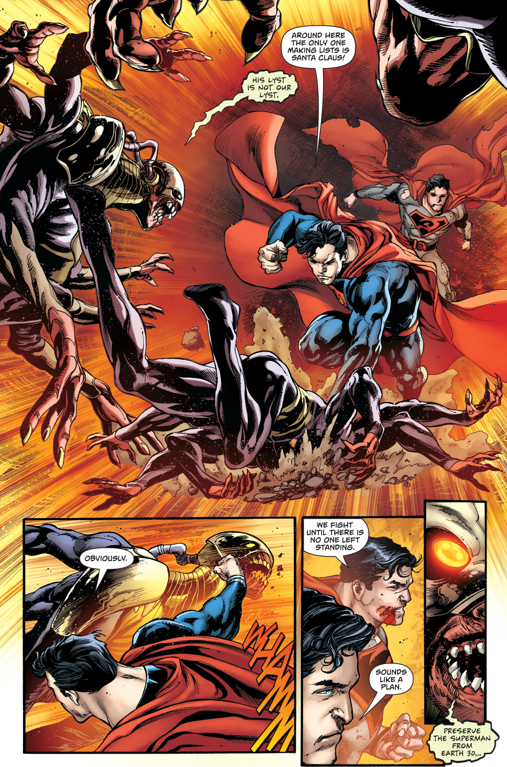 superman and red son superman vs the gatherers comicnewbies
