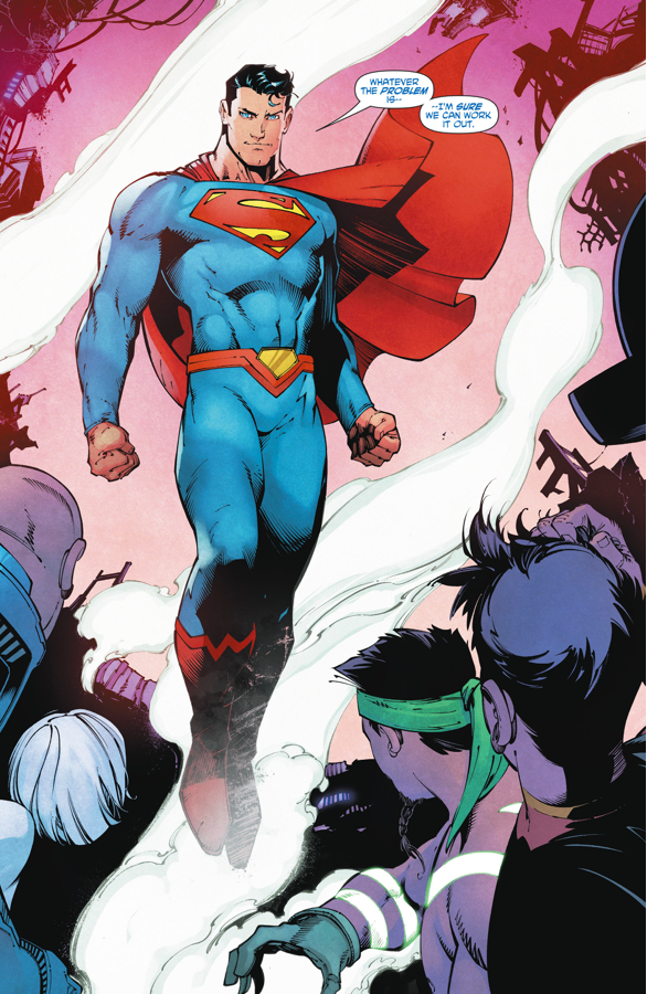 Superman VS China White Triad