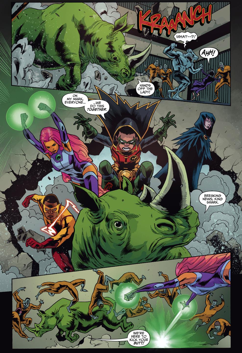 Teen Titans Vs Shark Mutants  Comicnewbies-3296