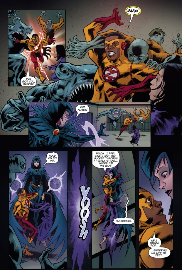 Teen Titans VS Shark Mutants