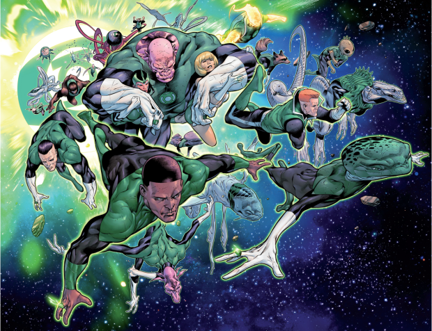 The Green Lantern Corps (Hal Jordan And The Green Lantern Corps #1)