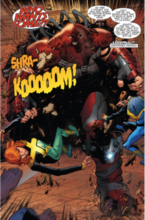 The Juggernaut (X-Men Blue #1)