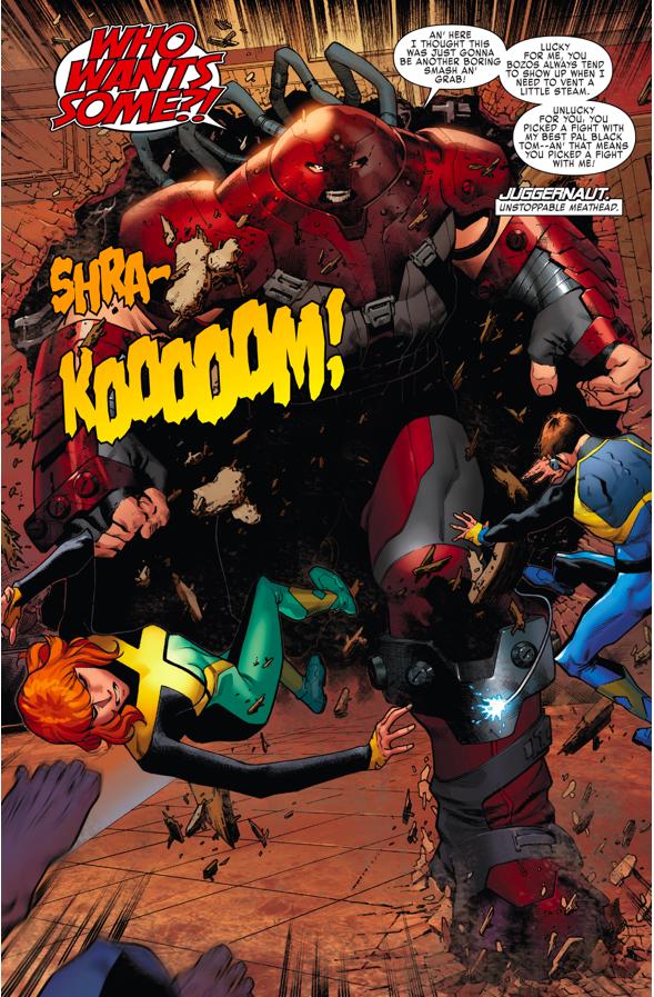 The Juggernaut (X-Men Blue #1)