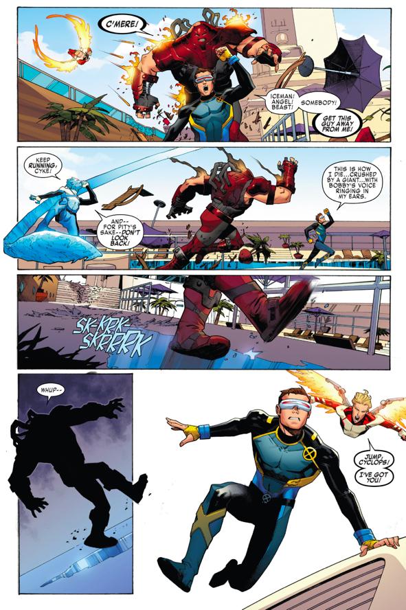The Original 5 X-Men VS The Juggernaut – Comicnewbies