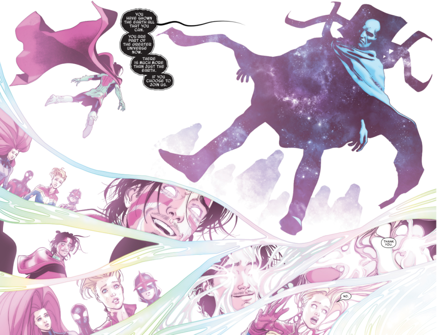 Ulysses Evolves Into A Cosmic Entity