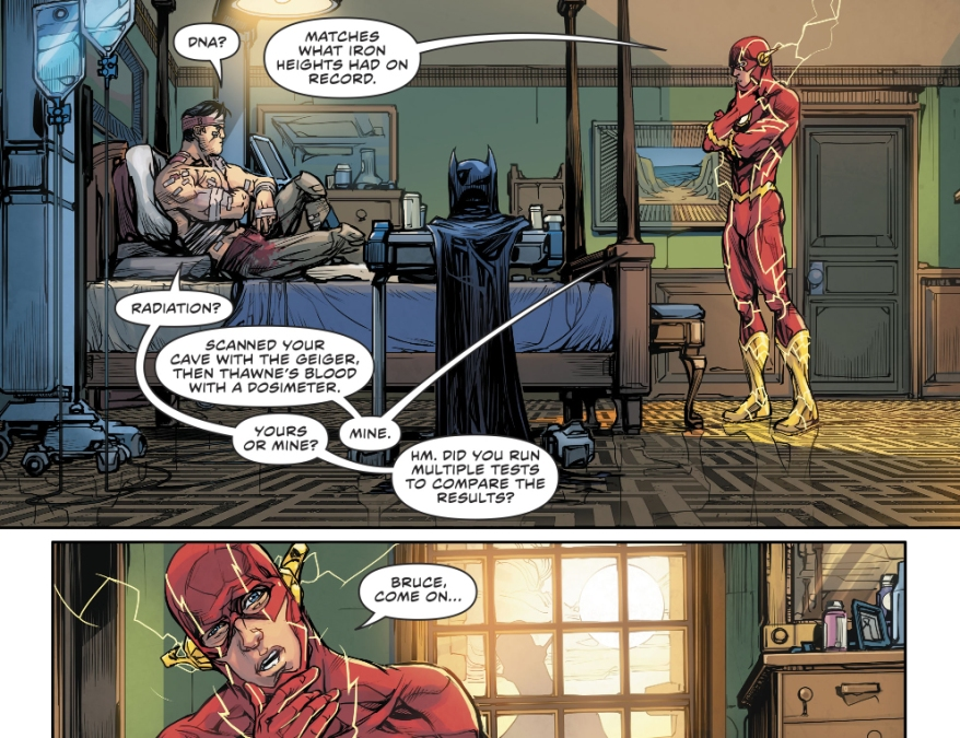 What Flash Thinks Of Batman (Rebirth)
