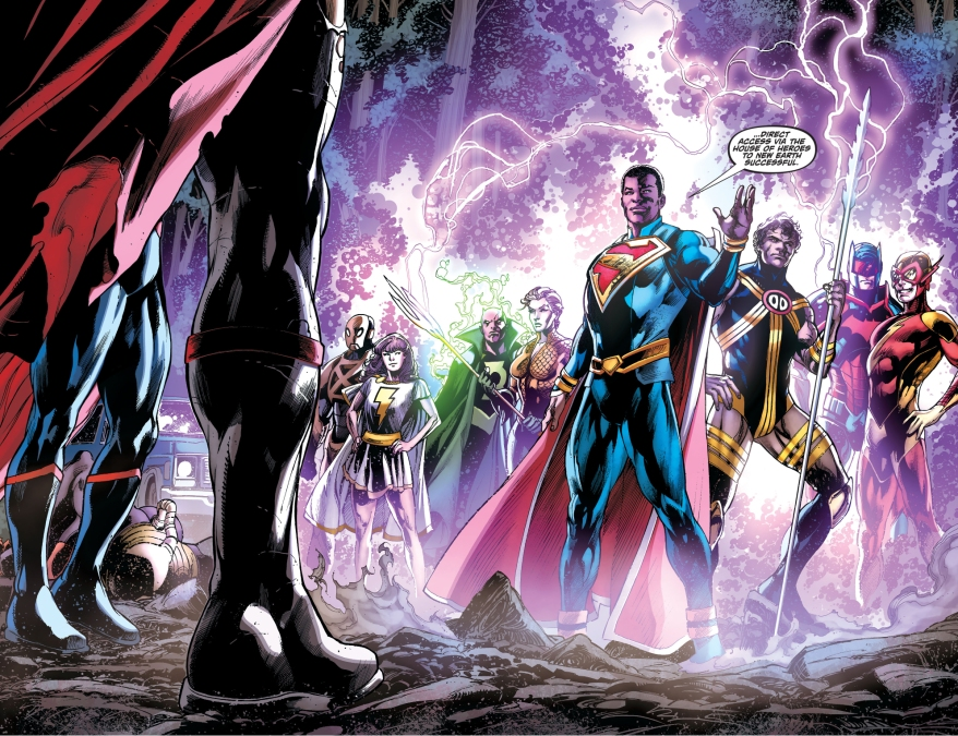 What Is The Justice League Incarnate