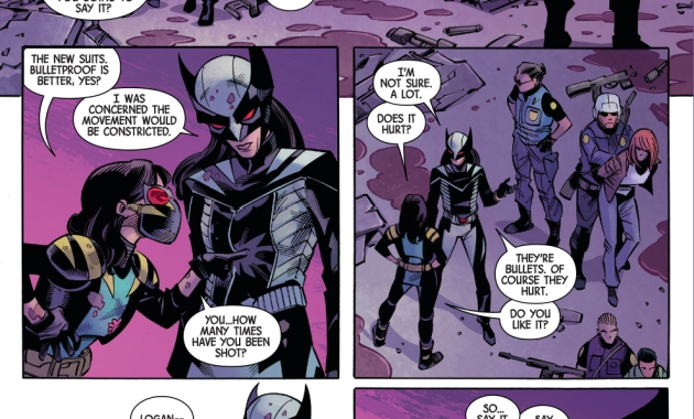 Why All New Wolverine Wears Bullet Proof Armor