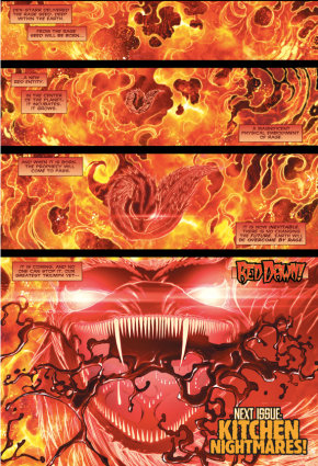 A New Rage Entity For The Red Lantern Corps