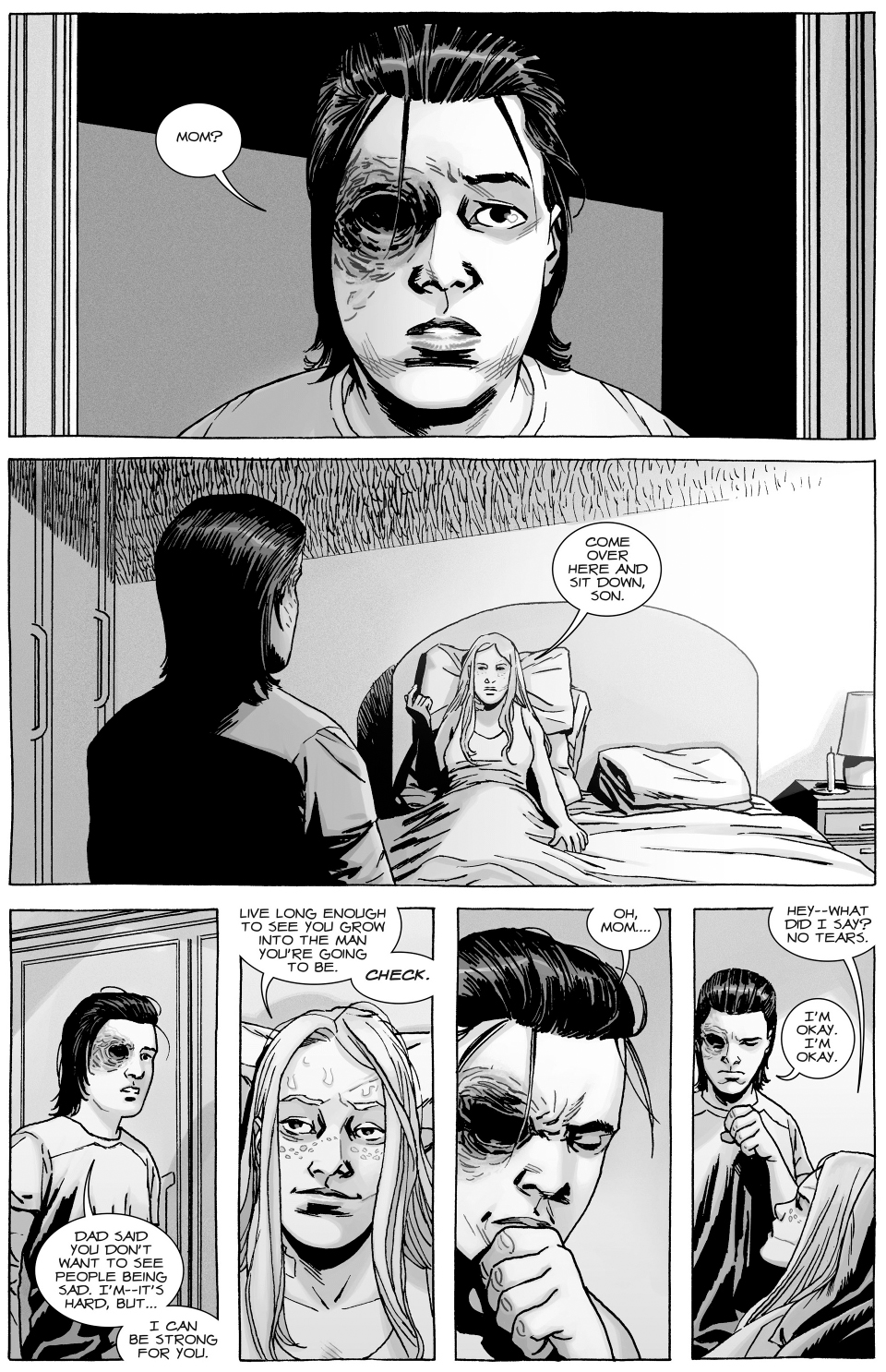Andrea's Advice On Love (The Walking Dead) | Comicnewbies