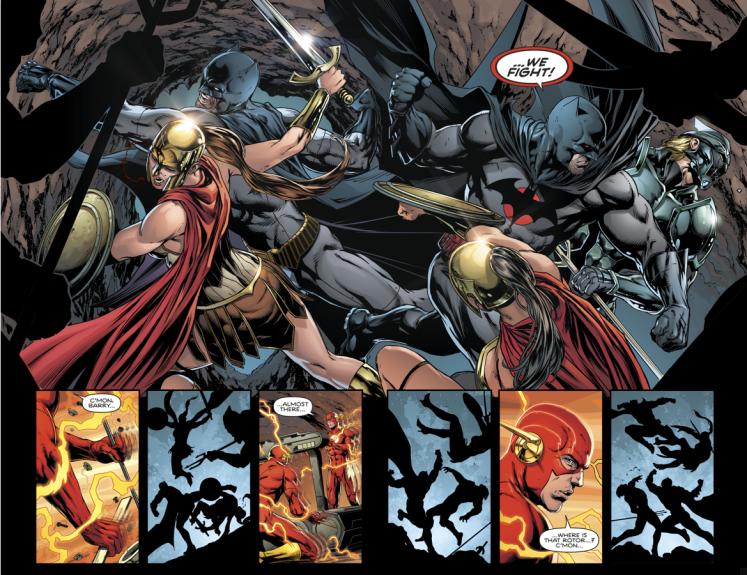 batman in a fight comic ile ilgili görsel sonucu
