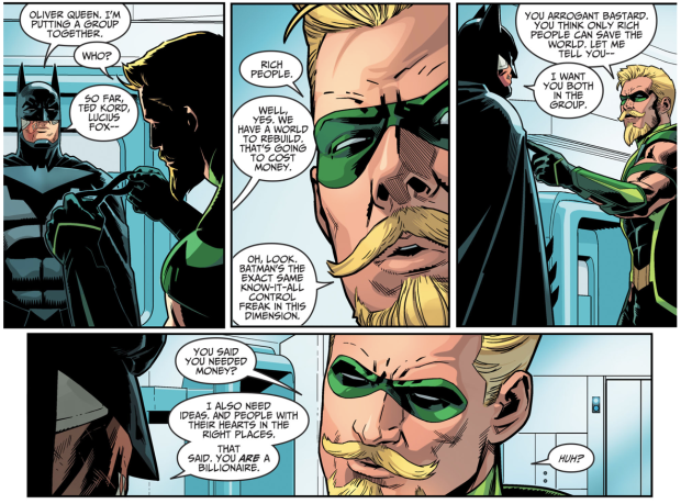 Black Canary Proposes To Green Arrow (Injustice II)