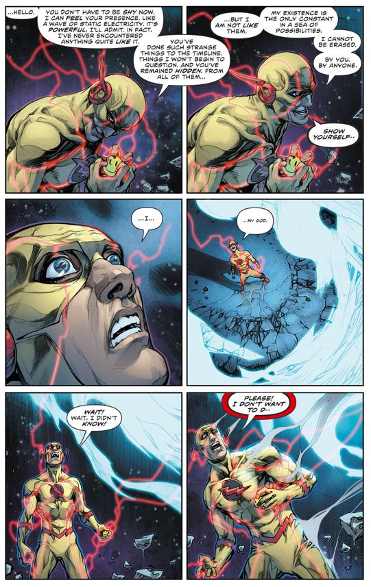 Doctor Manhattan Kills The Reverse Flash