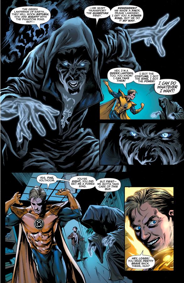 Frank Laminski Becomes The Phantom Lantern