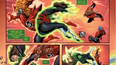 Green Lantern Jessica Cruz VS The Red Lantern Corps