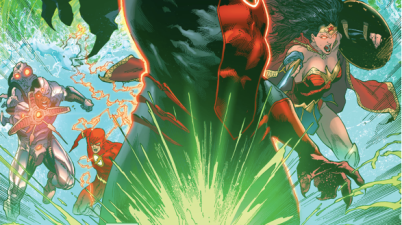 Green Lantern Simon Baz Has A Vision Of Red Dawn