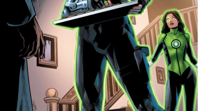 Green Lantern Simon Baz Reconciles With His Mom