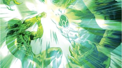 Green Lantern Simon Baz VS Atrocitus