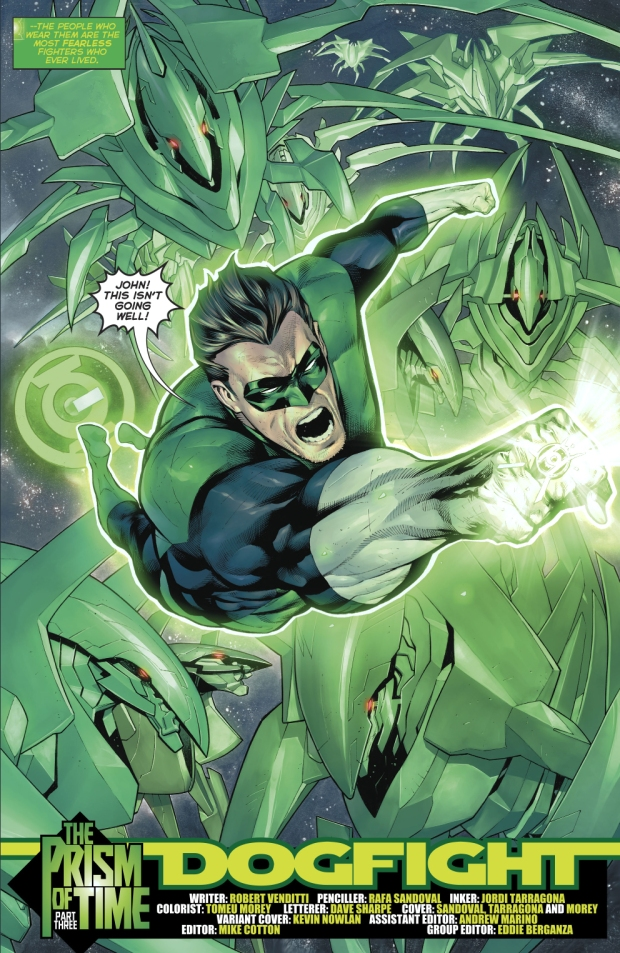 Hal Jordan (Hal Jordan And The Green Lantern Corps #19)
