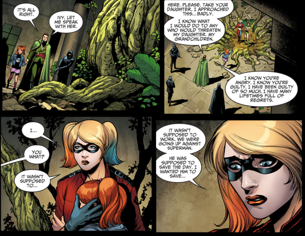 Harley Quinn Feels Guilty About Metropolis (Injustice II)