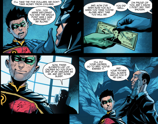 How Damian Wayne Passed Batman's Trial (Injustice II)