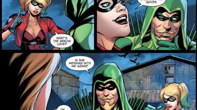 How Harley Quinn Changed The Arrow Cave Into The Quiver (Injustice II)