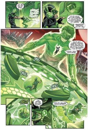 How Kyle Rayner Trained Simon Baz