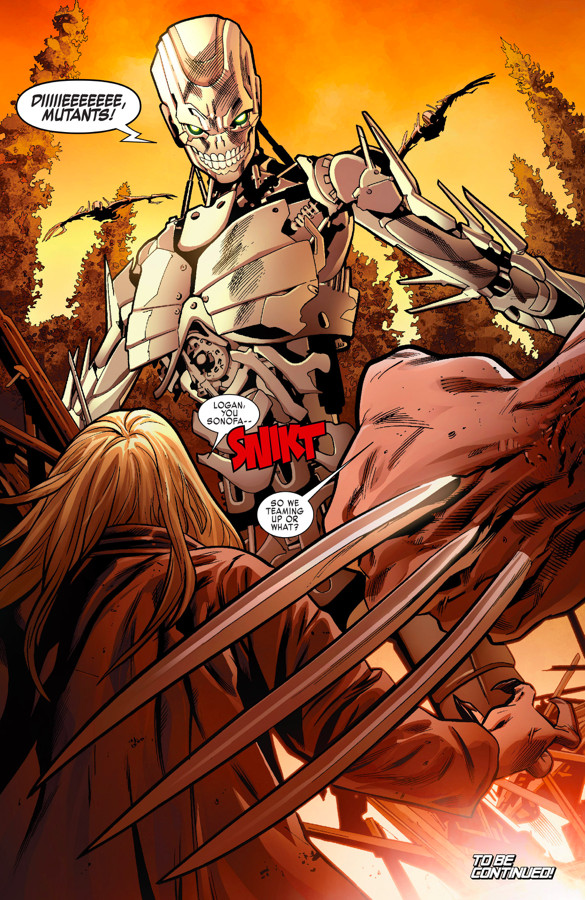 how old man logan and sabretooth teamed up comicnewbies