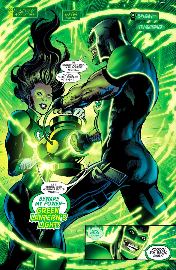 Jessica Cruz And Simon Baz (Green Lanterns #4)