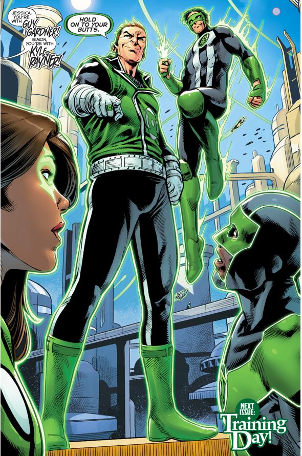 Jessica Cruz And Simon Baz's Green Lantern Trainers