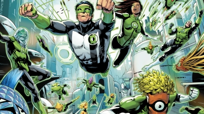 Jessica Cruz Meets The Green Lantern Corps