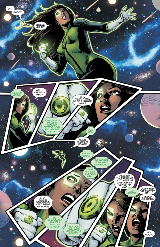 Jessica Cruz's First Meeting With Kyle Rayner