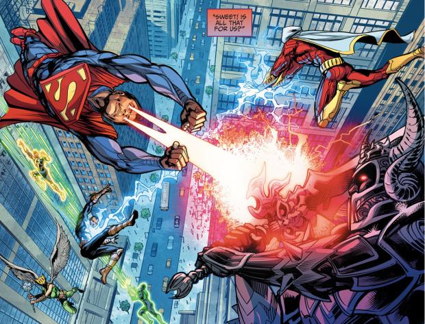Justice League VS Secret Society (Injustice Gods Among Us)