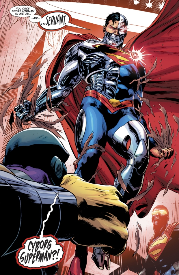 Mongul VS Cyborg-Superman (Rebirth)