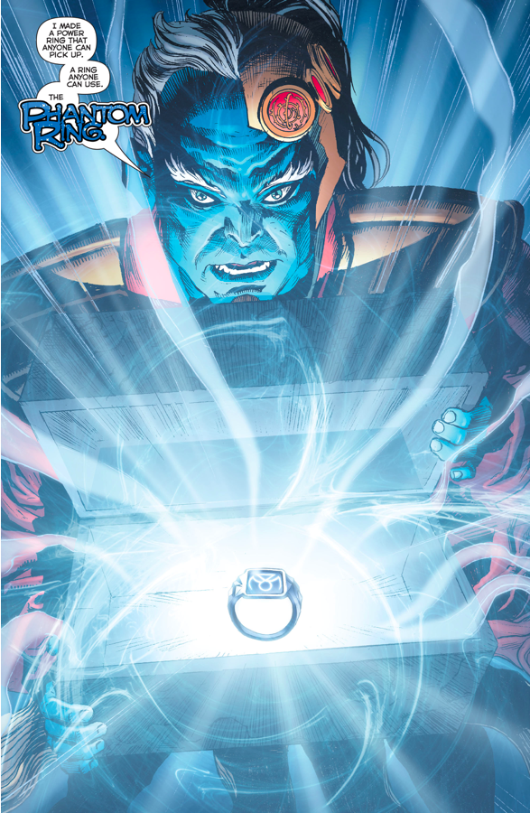 Green Lantern Phantom Ring