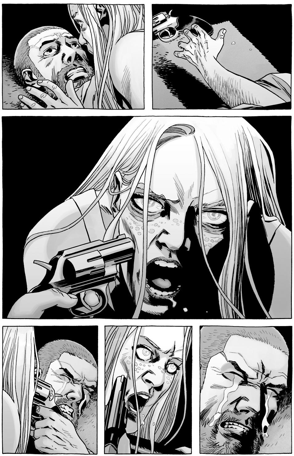 Rick Grimes Kills Andrea The Walking Dead  Comicnewbies-1207