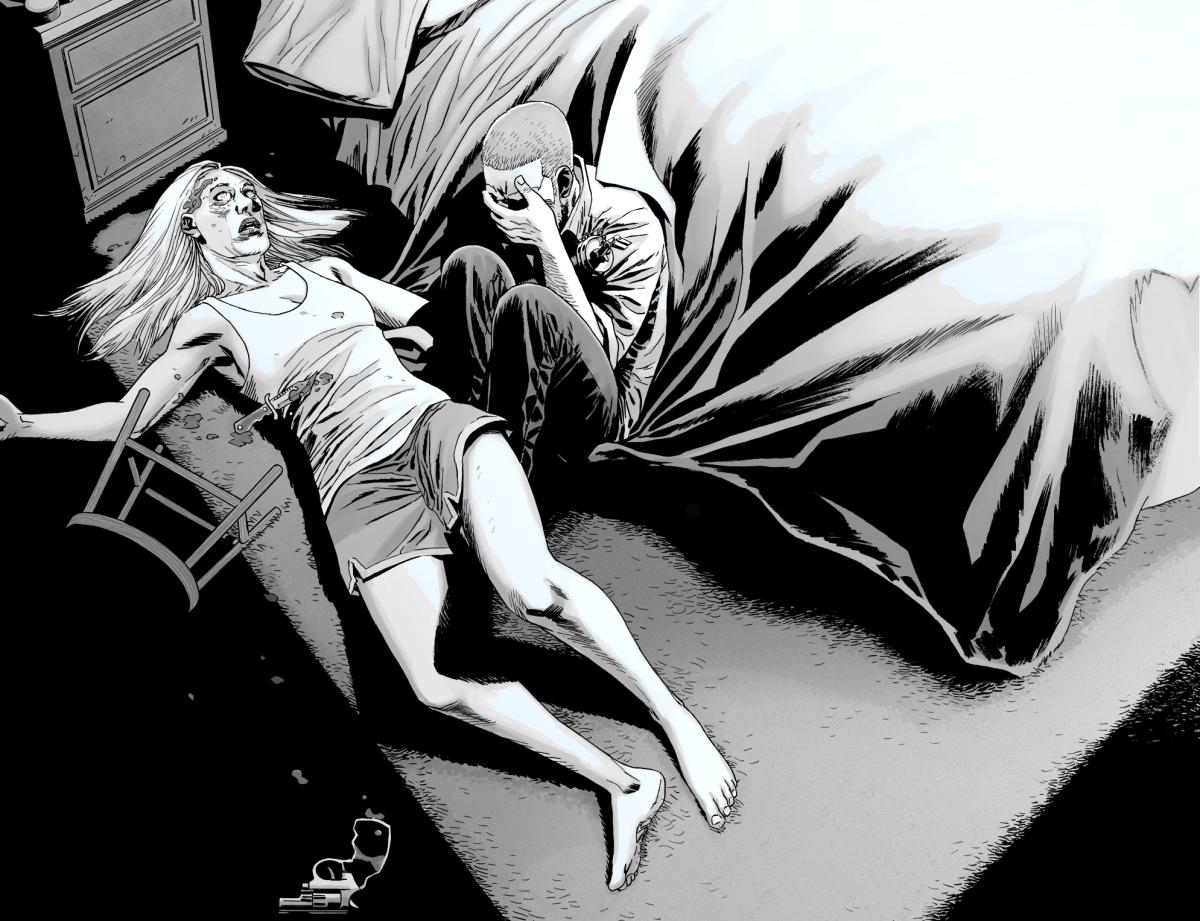 Rick Grimes Kills Andrea The Walking Dead  Comicnewbies-2458